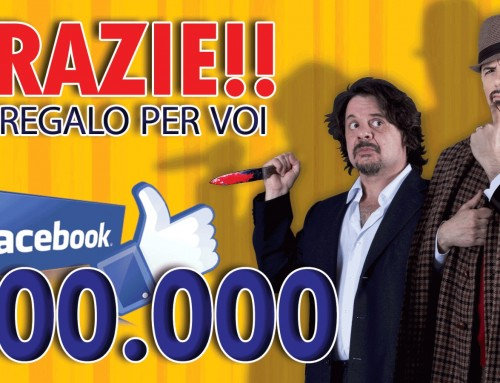 Grazie! 200.000 FAN Facebook